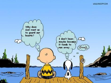 This is exactly something Mother would give to Will. They loved Charlie Brown together.