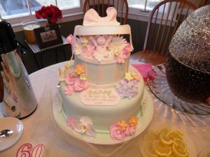 Mom's 60th birthday cake-2012
